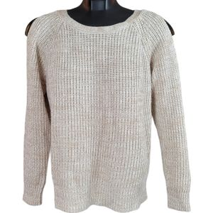 URBAN HERITAGE Sweater Cream Knit Pull Over